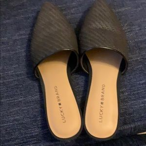 Lucky Brand Bradell Flats in Black - Size 7